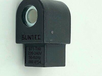 L/'Electrovanne Suntec T80 3713871SAV Bobine Magnétique Unique Pluggable As À