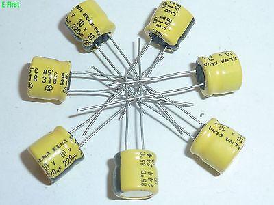 ELNA  2.2UF 50V AUDIO Grade Electrolytic Capacitors 85℃ 50 pcs// 100 pcs