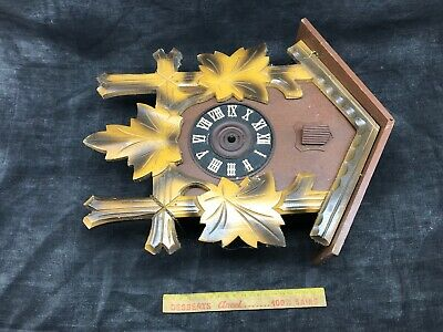 Antique Cuckoo, Control West Germany Cash Wooden Clock Pendulum 7