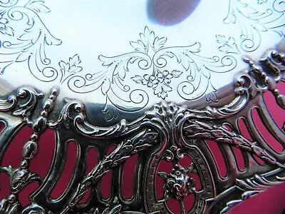 ANTIQUE 19THC RAFF,WASHBOURNE,&DUNN STERLING SILVER COMPOTE,#2983/47, 338gr 3