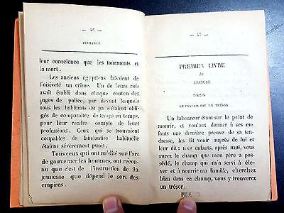 ANTIQE ARABIC FRENCH DICTIONARY.  ALPHABET et PREMIER LIVRE DE LECTURE. 1873 8