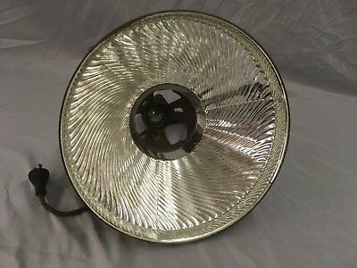Vintage Industrial X Ray Curtis Mirrored Mercury Glass Shade Steampunk 103-18E 8