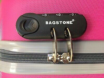 Juego de 3 maletas rigidas lisas de 4 ruedas giratoria 360 maleta equipaje viaje 11