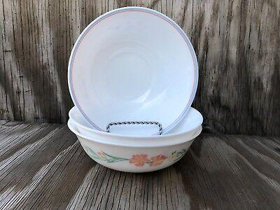 Arcopal Dishes Milk Glass Soup, Cereal Or Salad Bowls Set Of 3 Different Desig 7
