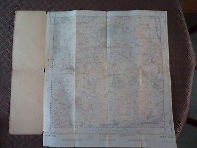 "Ordnance Survey 2.5"" Map SO41 Rockwell 1956 Cross Ash, Penchos, Hilston Park 2"