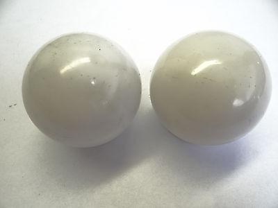 Antique White Glass Architectural Decorative Finial Pieces Balls Accent Parts 8