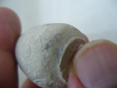 Antique Pottery Miniature Bottle Found In The Holyland 5
