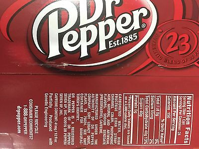 24 USA Dr Pepper Cans 355ml