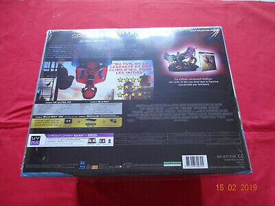 Spiderman - Coffret Spider-Man Homecoming Blu-ray 4K Ultra HD 3