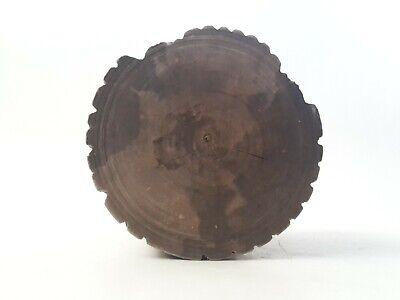 toller seltener Holz Mörser Apotheke antiker Stößel Pistill mit Gesicht RaR 8