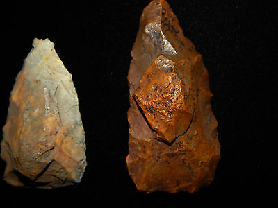 """Pre-Columbian Stone Tools """"Projectile Points"""", 100% Authentic 3"""