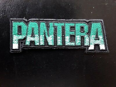 PANTERA AMERICAN HEAVY THRASH METAL ROCK MUSIC BAND EMBROIDERED PATCH UK SELLER