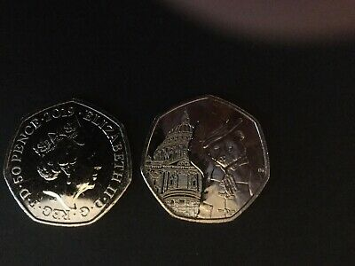 2019 UK Paddington Bear at St Pauls 50p From Sealed Bag 3