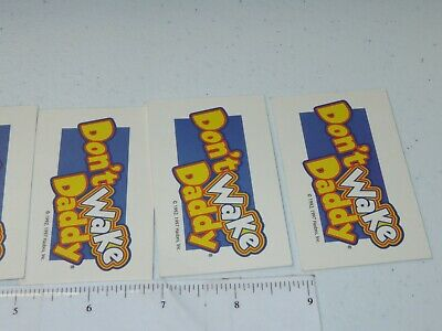 2007 Don't Wake Daddy Board Game Lot of 7 Cards Only Hasbro 7
