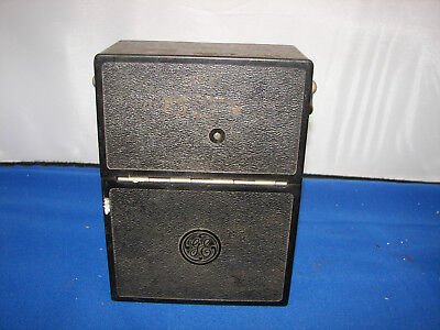 Antique Voltmeter 2 scale 15 VAC ,30 VAC scale Mirrored jeweled movement 2