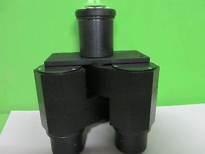 Microscope Pièce Polyvar Reichert Leica Tête Optiques Jumelles Tel Quel Bin 6