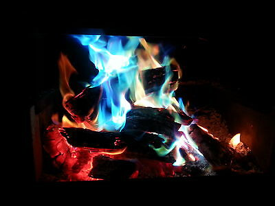MYSTICAL FIRE 12 pkts Magical Fire Colourful Color changing Flames Campfire 8