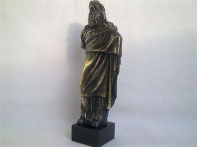 Sculpture Dionysus/Bacchus god of wine Greek Mythology statue figure brass 2