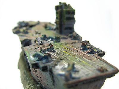 Porte-avions Cave ornement d'aquarium - NAVY Warship Battleship décor SHIP