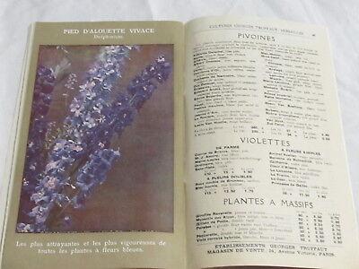 Catalogue Georges Truffaut Automne 1927 + 4 feuillets  bulbes rosiers engrais 8