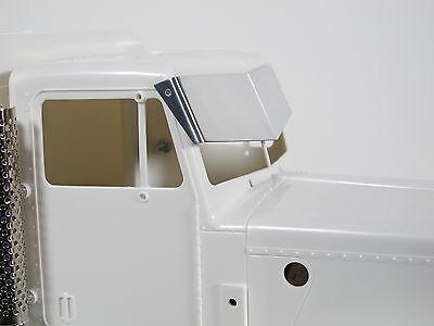 Custom Aluminum Front Roof Sunvisor Plate Tamiya RC 1//14 Semi King Grand Hauler