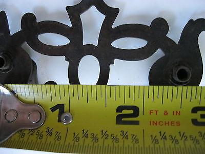 2 Antique Brass Drawer Pulls 6