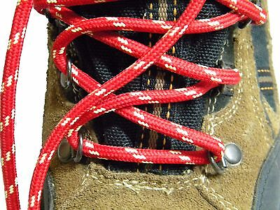 Light Tan w//Yellow Kevlar Reinforced Boot laces Shoestrings Round Heavy Duty
