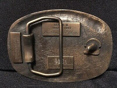 TISCO Tractor Implement Supply Co 55 Years Belt Buckle ALL MAKES PARTS Vintage 2