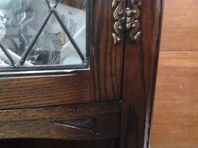 Luxury display cabinet,Jaycee,solid oak,glass,carved,no table,no chairs 8