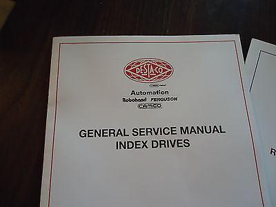 New Rdm601,902,1305,1800 Service Manual 99A44547010000 & 99A445470700001 Comco 2