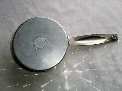 Wolfsiffer´s Pulvermisch-Dose rund komplett mit 3 Kugeln aus Aluminium 6
