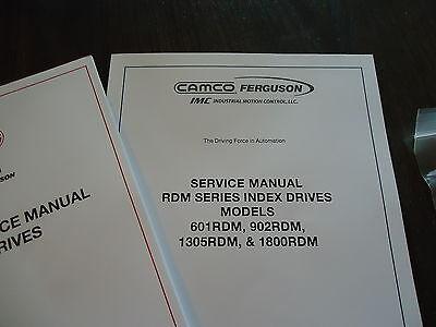New Rdm601,902,1305,1800 Service Manual 99A44547010000 & 99A445470700001 Comco 3