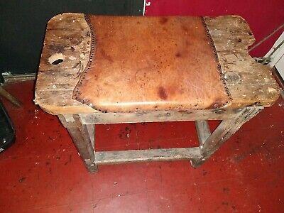 Beautiful Antique  English  Cobblers Bench 6