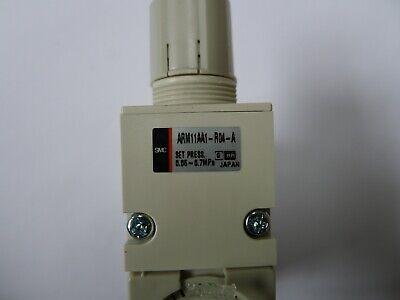 Regulator on Flange Smc ARM11AA1-R04-A New 2
