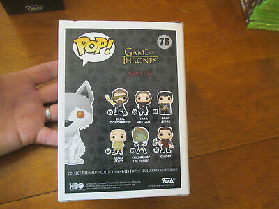Funko Pop Game Of Thrones Nymeria # 76 Exclusive Hot Topic 10