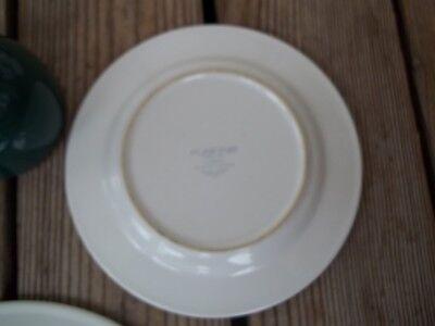 Nancy Calhoun Fusions Evergreen Raspberry Set Dinner Salad Plate Coffee Cup 4 PC 11