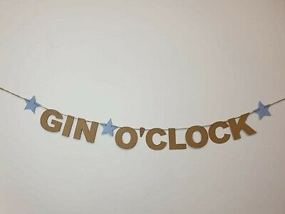 Adult Birthday Decoration Banner Humour bbq bar GIN BAR Bunting Party Banner
