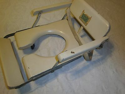 Vintage Little Toidey potty chair seat wooden sets on the stool adjustable 10