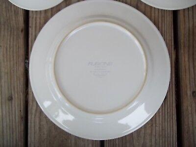 Nancy Calhoun Fusions Evergreen Raspberry Set Dinner Salad Plate Coffee Cup 4 PC 7