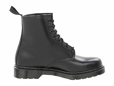 Men's Shoes Dr. Martens 1460 MONO 8 Eye Leather Boots 14353001 BLACK SMOOTH 4