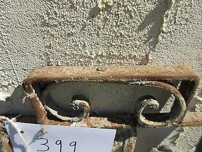 Antique Victorian Iron Gate Window Garden Fence Architectural Salvage Door #399 5