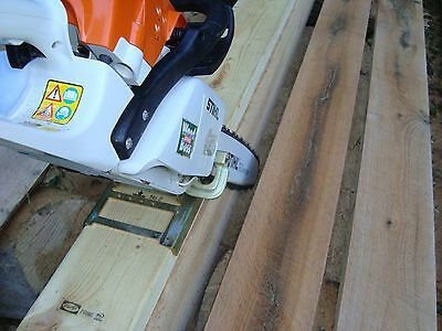 1 Of 12free Shipping Haddon Lumbermaker Chainsaw Mill Made In Usa Guaranteed For Life The Origional