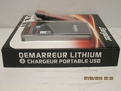 2.4A Power Bank USB charger NISP Energizer ENX8K 7500mAh  Lithium Jump Starter