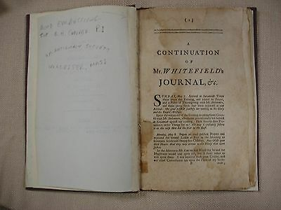 Whitefield - Continuation of Journal - 1741 - Bible - FBHP-2 3