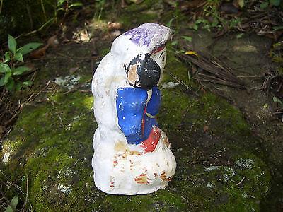 Japan antique clay doll Daikokuten God of Wealth 7 Deities of Good Fortune #8233 7