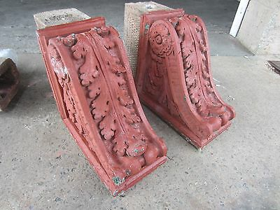 ~ Great Set Of Antique Stone Corbels ~ Architectural Salvage ~ 10