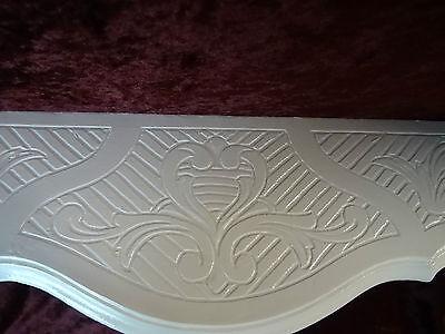 Wall Console/Spiegelkonsolen/Wall Shelf Baroque Antique White B: 45cm cp68 8