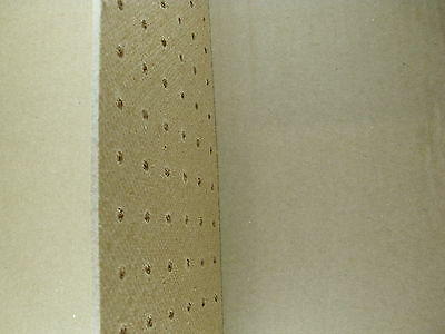 6mm Wooden Pegboard 600mm x 600mm 25mm Hole centres Fixing kit Included