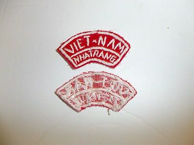 b3848 US Vietnam Novelty Patch Coup Qualified Diem IR3B