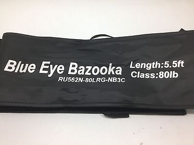 Shimano Forcemaster Blue Eye Bazooka  80Lb  Rod  Larry Diamond Special